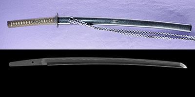 wakizashi  [senju_in izumi_no_kami minamoto morimasa saku] (The former name of Senjuin Morikuni) (sintou jou-saku) (wazamono)thumb