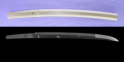 wakizashi    [1 tobu tarou tsukuru (Kao)] (fujieda tarou teruyoshi) (sinsintou jou-saku)thumb