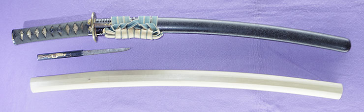wakizashi [ishikawa kokusai minamoto takamasa BUNSE 6] Picture of SAYA