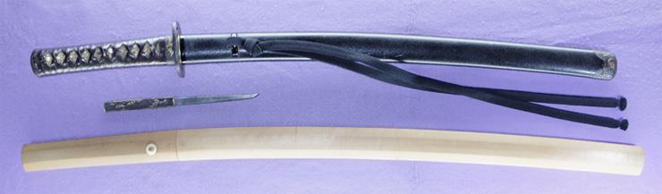 wakizashi  [hoshu takada_ju fujiwara yukinag] (wazamono) Picture of SAYA
