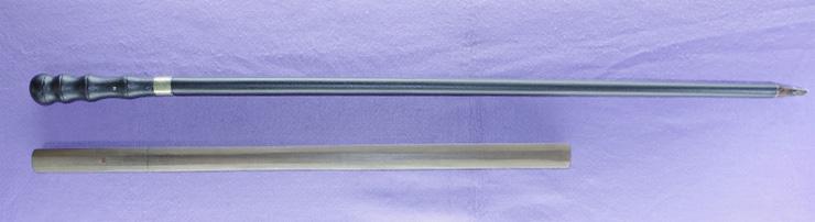 wakizashi   [sanjyou munechika] (yamato・sinsintou) [Sword cane] (zatoichi stick) Picture of SAYA